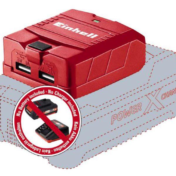 خرید اینترنتی پاور بانک 18 ولت آینهل مدل TE-CP 18 LI USB Solo در فروشگاه اینترنتی ابزارایران