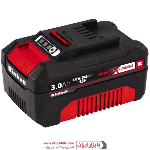 خرید اینترنتی باطری ۳ آمپر ۱۸ ولت آینهل مدل 18V 3.0 Ah Power-X-Change در فروشگاه اینترنتی ابزارایران