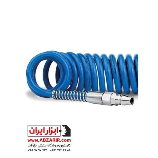 شلنگ فنری 5 متری الیت مدل Elite Pneumatic Hose فروشگاه اینترنتی ابزار ایران