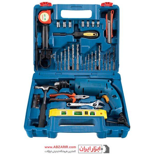 خرید اینترنتی دریل 13 چکشی با کیف و ابزار کامل دانگ چنگ مدل DZJ04-13 در فروشگاه اینترنتی ابزارایران