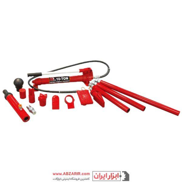 خرید اینترنتی جک صافکاری 10 تن بیگ رد مدل T 71001 از فروشگاه اینترنتی ابزارایران