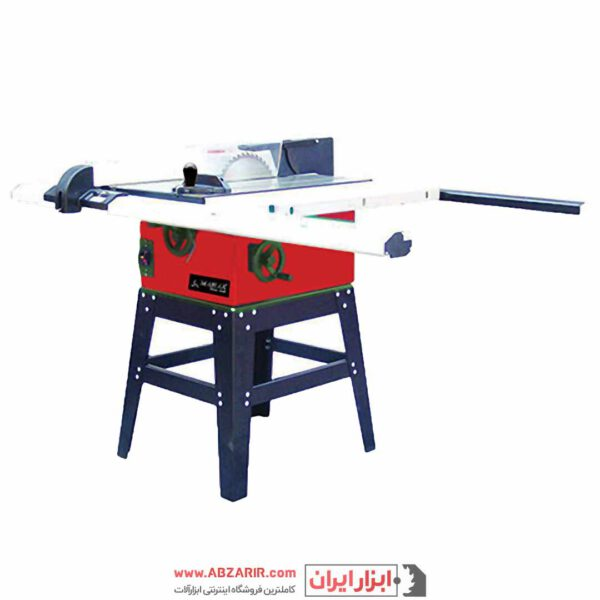 اره میزی صنعتی ۲۵۴ میلیمتر پایه دار محک مدل TS-254