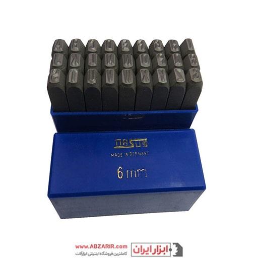 خرید اینترنتی سنبه حروف 6 میلی متر ماسوس مدل MS6 از فروشگاه اینترنتی ابزارایران