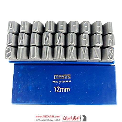 خرید اینترنتی سنبه حروف 12 میلی متر ماسوس مدل MS12 از فروشگاه اینترنتی ابزارایران