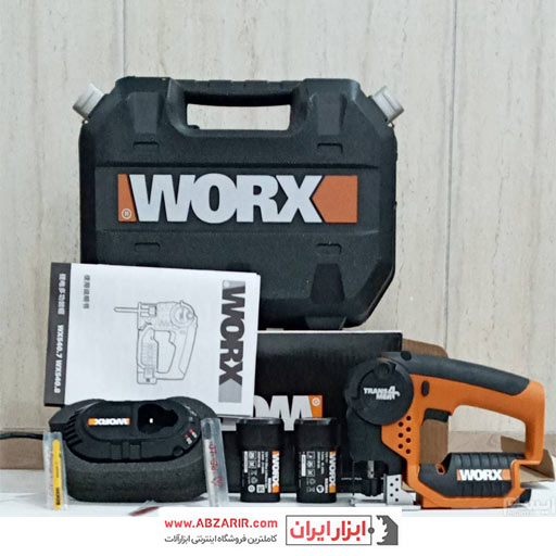 اره همه کاره دو حالته 12 ولت شارژی ورکس مدل WX-540
