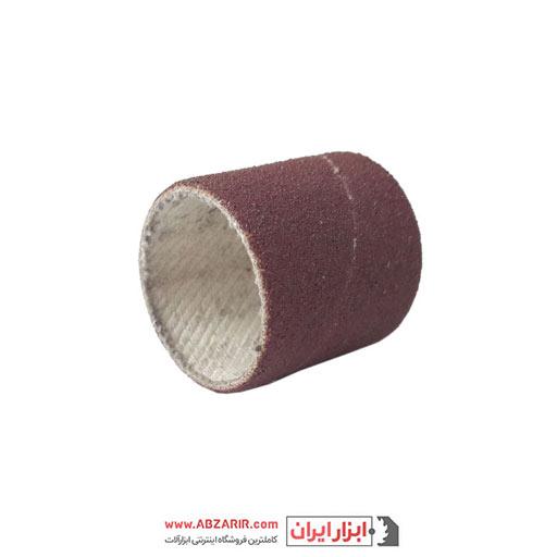 سنباده حلقوی قرمز P80 قطر 30 ارتفاع 30 میلی متر